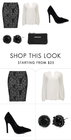 """""""30 year old manager outfit"""" by alpha-girl-jamie on Polyvore featuring Zhenzi, Wallis and Betsey Johnson"""