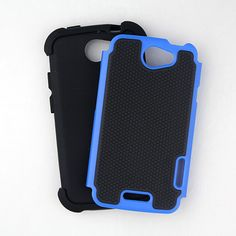 While the outer two layers of this back mobile case are glued together, the inner silicon layer is easily detachable. The case is engineered brilliantly to hold all the layers intact through the protruded buttons   when the device is inside. Unravel more details of its design at goo.gl/Mk3r5e