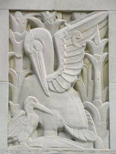 art deco buildings with animals - Google Search
