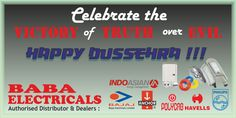 Celebrate the truth over evil. On this auspicious day we wish all of you a Happy Dussehra!