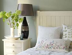 Love this green/gray wall color
