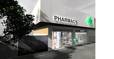 Pharmacy design, in Athens