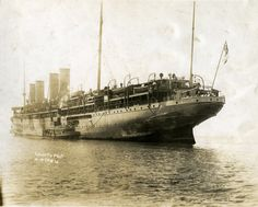 Pictures: Forty thousands tons of trouble anchors in Hampton Roads, pushing the region perilously close to WWI: -- Mark St. John Erickson