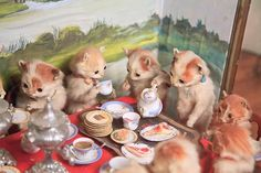 Potters Museum : The Kittens' Tea & Croquet Party