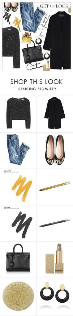 """Get the Look: Cool Coats"" by danielle-487 ❤ liked on Polyvore featuring Alice + Olivia, Donna Karan, J.Crew, Kate Spade, Urban Decay, Yves Saint Laurent, Burberry and David Webb"