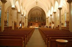 Iowa | St. Ralphael's Catholic Cathedral in Dubuque, IA - Inside view from your Trinity Stores crew.
