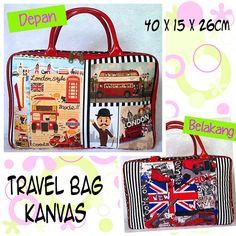 Travel Bag london style 100rb ● order WA/Line : 081386886644 ● ig @babykiddymommyshop