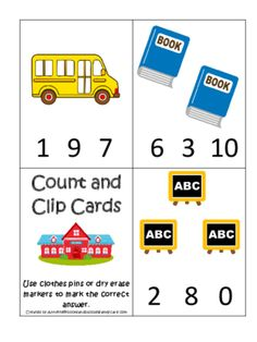math worksheet : at the beach themed match the number activity preschool pre k  : Pre Kindergarten Math Games