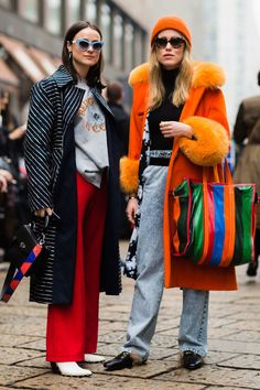 The Best Street Style From Milan Fashion Week Cool Street Fashion, 70s Fashion, Street Chic, Look Fashion, Daily Fashion, Fashion Outfits, Womens Fashion, Fashion Design, Fashion Trends