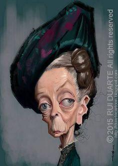 Maggie Smith by Rui Duarte