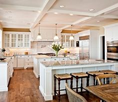 Kitchen - don't like the stools and probably a different dinning table