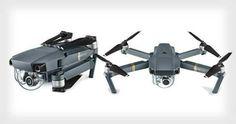 Dji Mavic Pro. Portable camera drone