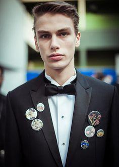 Backstage du défilé Dior Homme automne-hiver 2015-2016 La Mode Masculine,  Dior 5e8fc359d348