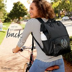Spring Into Style - Thirty-One Gifts Diaper Backpack, Backpack Straps, Drawstring Backpack, Diaper Bag, Thirty One Fall, Thirty One Gifts, Georgia Street, Thirty One Business, Large Utility Tote