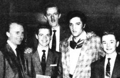 Elvis Presley with Gospel and Country Quartet TheBlackwood Brothers