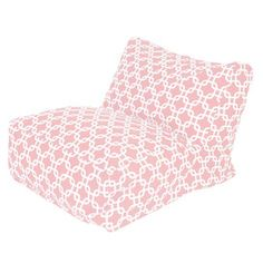 Links Bean Bag Chair in Soft Pink