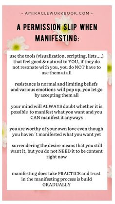 law of attraction #manifest #easily Writing Lists, Psychology Quotes, How To Manifest, Subconscious Mind, I Can Tell, Mindful Living, You Are Awesome, Inner Peace, Trust Yourself