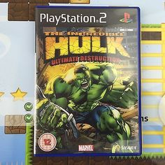 #Incredible hulk #ultimate destruction #(the) - sony playstation 2 ps2 game - min, View more on the LINK: http://www.zeppy.io/product/gb/2/331983633078/