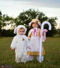 Little Bo Peep and her Sheep Costume