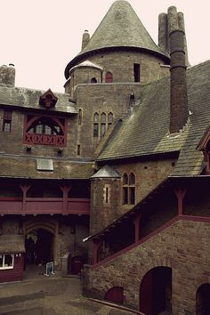 Castle Coch - Where George took neil & Jackie in the episode