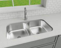 Sink render Product 3D model + render for PW Cabinetry