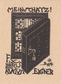 Ex libris by Bruno da Osimo