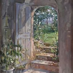 Susan Ryder, RP NEAC (English) 'Chapel Doorway'