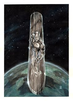 @deviantART Picks Tuesday 8/20/2014 Edition #Marvel #SilverSurfer | Images Unplugged