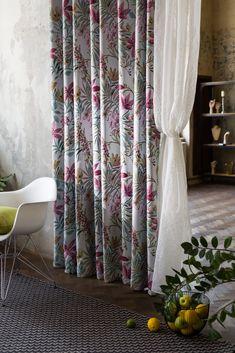 #mendolafabrics #curtains #romantic #romanticstyle #romanticroom #draperii #floralpattern #homedecor #homedesign #interiordesign #decor Romantic Room, Sheer Curtains, Home Decor Inspiration, Floral Design, House Design, Interior Design, Fabric, Nest Design, Tejido