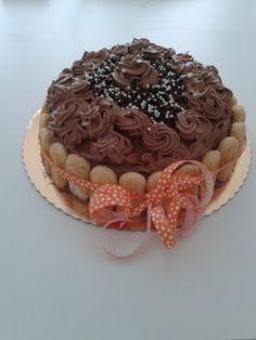 MATRIMONIO IN CUCINA: Torta di compleanno con ganache al triplo cioccola...