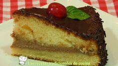Receta de tarta Sacher de chcocolate