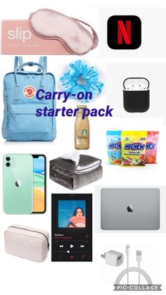 Carry On Bag Essentials, Road Trip Essentials, Road Trip Hacks, Airplane Essentials, Holiday Essentials, Road Trips, Travel Packing Checklist, Packing List For Vacation, Road Trip Checklist