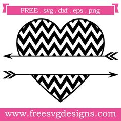 Free svg cut files split heart with arrows. Free Svg Cut Files, Svg Files For Cricut, Arrow Svg, Valentines Design, Heart With Arrow, Silhouette Cameo Projects, Cricut Creations, Svg Cuts, Cutting Files