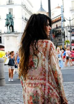: Sheer boho kimonos. Need.