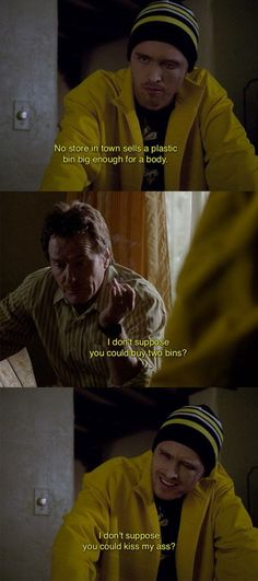 """When Jesse showed off his powers of negotiation. 