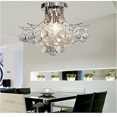 lightinthebox lampadari : ALFRED? 3 luce lampadario di cristallo moderno (finitura cromata ...