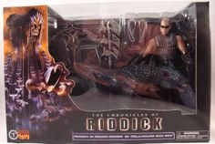 Chronicles of Riddick Hellhound Box Set Riddick in Necro Armor 2 Staff Axes RARE | eBay