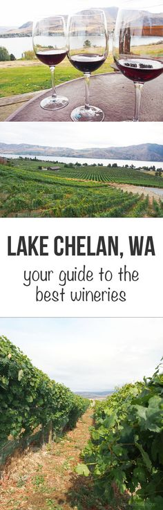 Your guide to the best family-run wineries in beautiful Lake Chelan, WA.