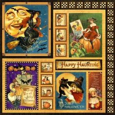 A look at the Happy Hauntings collection by Graphic 45.