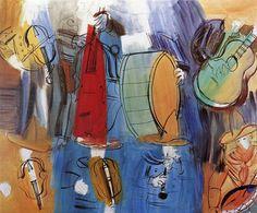 Fan account of Raoul Dufy, a French Fauvist painter. Raoul Dufy, Jewish Art, Art Database, Art Archive, Naive Art, Modern Wall Art, Impressionist, Watercolor Paintings, Fine Art Prints