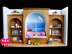 Diy miniature library