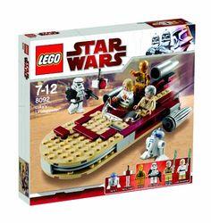 LEGO Star Wars Luke's Landspeeder (8092) Star Wars http://www.amazon.com/dp/B002KCNV70/ref=cm_sw_r_pi_dp_ZU-7ub0T7XK3E