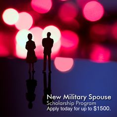 "Happy Military Spouse Day!  We'd like to honor military spouses who ""serve"" at home while your active duty spouses bravely serve our country. To show our appreciation for all that you sacrifice, AAU is proud to introduce our Military Spouse Scholarship Program.  We're giving away a limited number of scholarships valued up to $1,500 each. Don't miss out, learn more now!"