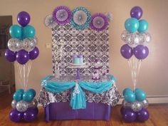 We do party decorations. We make balloons decorations (arch, column, balloons bouquet, balloons centerpiece, and more). We also do hand-made decoration. We make decorations for children's parties, adults, first communions, graduations, baby showers, christenings, etc, We do centerpieces and decorate with fabrics and plastics. We make thematic decorations and more.