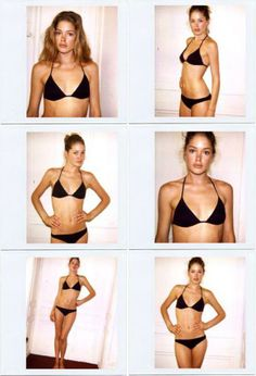 Models Before They Were Famous—Doutzen Kroes: http://intothegloss.com/2014/02/models-before-they-were-famous/