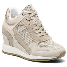 525cceee100c Sneakersy GEOX - D Nydame A D540QA 022EW C5002 Cream - Sneakersy -  Poltopánky - Dámske