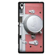 Pink Leica Camera TATUM-8692 Sony Phonecase Cover For Xperia Z1, Xperia Z2, Xperia Z3, Xperia Z4, Xperia Z5