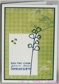 carte d'anniversaire avec oiseaux et feuillage: http://les2mainsgauches.canalblog.com/archives/2015/10/04/32683253.html