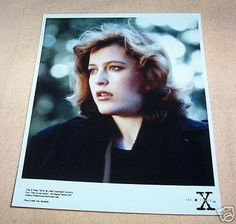 THE X FILES DANA SCULLY (GILLIAN ANDERSON) PHOTO STYLE3