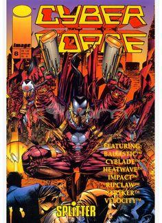 Cyber Force / Cyberforce Nr. 8 (Buchhandelausgabe) von Splitter (1997) | http://www.cyram-entertainment.de/shop/products/Buecher-Comics-Magazine/Comics/Cyberforce/Cyberforce-Nr-8.html
